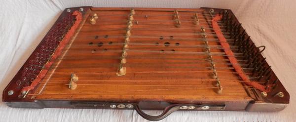 The (portable) Cimbalom from Paweł Lechowski's Collection of Romany Artefacts